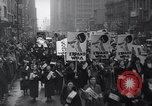 Image of protest New York United States USA, 1937, second 12 stock footage video 65675038386