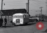 Image of railroad bus hybrid Arlington Virginia USA, 1937, second 4 stock footage video 65675038390