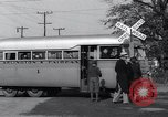 Image of railroad bus hybrid Arlington Virginia USA, 1937, second 8 stock footage video 65675038390