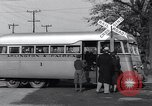 Image of railroad bus hybrid Arlington Virginia USA, 1937, second 9 stock footage video 65675038390