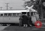 Image of railroad bus hybrid Arlington Virginia USA, 1937, second 10 stock footage video 65675038390