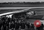 Image of Ford Trimotor plane Detroit Michigan USA, 1928, second 10 stock footage video 65675038418
