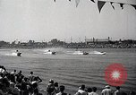 Image of motor boat race Long Beach California USA, 1937, second 11 stock footage video 65675038439