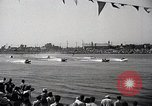 Image of motor boat race Long Beach California USA, 1937, second 12 stock footage video 65675038439