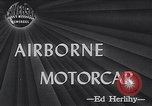Image of Airphibian aerobile flying car Danbury Connecticut USA, 1946, second 1 stock footage video 65675038447