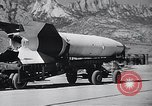 Image of V-2 rocket New Mexico United States USA, 1946, second 7 stock footage video 65675038448