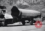 Image of V-2 rocket New Mexico United States USA, 1946, second 8 stock footage video 65675038448