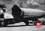 Image of V-2 rocket New Mexico United States USA, 1946, second 9 stock footage video 65675038448