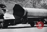 Image of V-2 rocket New Mexico United States USA, 1946, second 10 stock footage video 65675038448