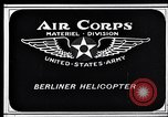 Image of Berliner helicopter Washington DC USA, 1925, second 1 stock footage video 65675038464