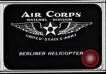 Image of Berliner helicopter Washington DC USA, 1925, second 4 stock footage video 65675038464