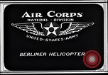 Image of Berliner helicopter Washington DC USA, 1925, second 9 stock footage video 65675038464