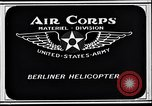 Image of Berliner helicopter Washington DC USA, 1925, second 10 stock footage video 65675038464