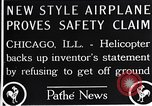 Image of Freak helicopter Chicago Illinois USA, 1925, second 5 stock footage video 65675038465