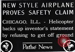 Image of Freak helicopter Chicago Illinois USA, 1925, second 12 stock footage video 65675038465