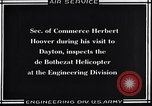Image of De Bothezat helicopter test Dayton Ohio USA, 1922, second 8 stock footage video 65675038470