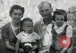 Image of Donald Zimmerman and wife with World War 2 adopted orphans Manila Philippines, 1945, second 3 stock footage video 65675038479