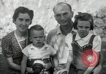 Image of Donald Zimmerman and wife with World War 2 adopted orphans Manila Philippines, 1945, second 4 stock footage video 65675038479