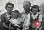 Image of Donald Zimmerman and wife with World War 2 adopted orphans Manila Philippines, 1945, second 6 stock footage video 65675038479