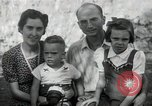 Image of Donald Zimmerman and wife with World War 2 adopted orphans Manila Philippines, 1945, second 8 stock footage video 65675038479