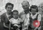 Image of Donald Zimmerman and wife with World War 2 adopted orphans Manila Philippines, 1945, second 9 stock footage video 65675038479
