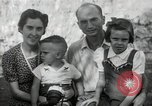 Image of Donald Zimmerman and wife with World War 2 adopted orphans Manila Philippines, 1945, second 10 stock footage video 65675038479
