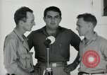 Image of Leopold Damrosch and Ned Davenport liberated internees Muntilupa Philippines, 1945, second 6 stock footage video 65675038482
