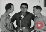 Image of Leopold Damrosch and Ned Davenport liberated internees Muntilupa Philippines, 1945, second 8 stock footage video 65675038482