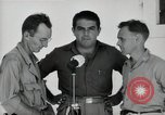Image of Leopold Damrosch and Ned Davenport liberated internees Muntilupa Philippines, 1945, second 9 stock footage video 65675038482