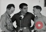 Image of Leopold Damrosch and Ned Davenport liberated internees Muntilupa Philippines, 1945, second 10 stock footage video 65675038482