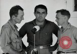 Image of Leopold Damrosch and Ned Davenport liberated internees Muntilupa Philippines, 1945, second 12 stock footage video 65675038482
