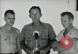 Image of prisoners of war Muntilupa Philippines, 1945, second 4 stock footage video 65675038484