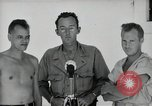 Image of prisoners of war Muntilupa Philippines, 1945, second 5 stock footage video 65675038484