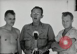 Image of prisoners of war Muntilupa Philippines, 1945, second 6 stock footage video 65675038484