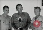Image of prisoners of war Muntilupa Philippines, 1945, second 7 stock footage video 65675038484
