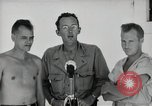Image of prisoners of war Muntilupa Philippines, 1945, second 8 stock footage video 65675038484