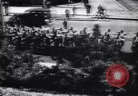 Image of German troops marching into Oslo Norway, 1940, second 6 stock footage video 65675038486