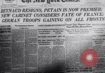 Image of 2nd Armistice signed at Compiègne France, 1940, second 3 stock footage video 65675038492