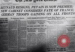 Image of 2nd Armistice signed at Compiègne France, 1940, second 4 stock footage video 65675038492