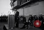 Image of Vice Admiral Ingersoll Yokosuka Japan, 1957, second 9 stock footage video 65675038493