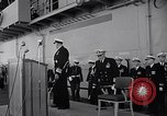 Image of Vice admiral Ingersoll Yokosuka Japan, 1957, second 11 stock footage video 65675038494