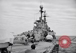 Image of American Cruiser USS Saint Paul Western Pacific Ocean, 1957, second 9 stock footage video 65675038495