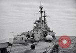 Image of American Cruiser USS Saint Paul Western Pacific Ocean, 1957, second 11 stock footage video 65675038495