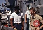 Image of Midshipman Kane Gulf of Tonkin Vietnam, 1967, second 9 stock footage video 65675038502