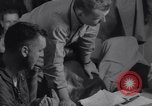 Image of Pilots debriefed after mission  Korea, 1950, second 7 stock footage video 65675038523