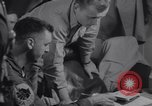 Image of Pilots debriefed after mission  Korea, 1950, second 8 stock footage video 65675038523