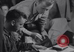 Image of Pilots debriefed after mission  Korea, 1950, second 9 stock footage video 65675038523