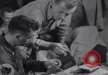 Image of Pilots debriefed after mission  Korea, 1950, second 11 stock footage video 65675038523