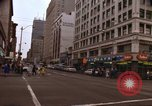 Image of pedestrians Seattle Washington USA, 1968, second 7 stock footage video 65675038531