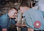 Image of Boxer aircraft carrier engine room Korea, 1953, second 3 stock footage video 65675038538